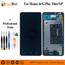 100% Tested AAA Quality LCD+Frame For HUAWEI Honor 4C Lcd Display Screen Replacement For HUAWEI Honor 4C LCD Digiziter Assembly for huawei honor 4c pro tit l01 lcd display touch screen digitizer assembly with no frame not fit for honor 4c disply sensor
