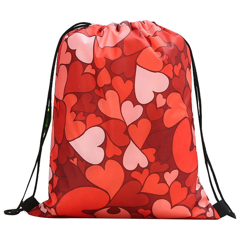 Cosmetic Storage Bag Drawstring Bag Organizer Valentine's Shopping Package Beach Women Bags For Women 2019 Bundle Rope Package#