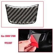 1 шт. 59*37 мм углеродное волокно руль Стикеры украшение интерьера автомобиля для Audi для sline s3 s4 s5 s6 s7 стайлинга автомобилей
