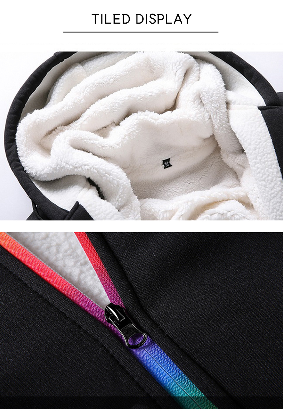 Solid Tracksuits Warm Sporting Jackets 1 13