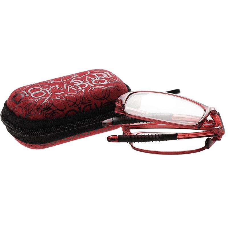 Hot Unisex Fashion Folding Reading Glasses Eyeglass With Case 1 0 1 5 2 0 2