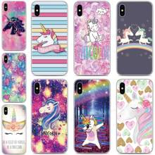 Silicone Rainbow Unicorn Phone Case For Cubot P40 P30 X19 R11 J3 Pro P20 Power Nova Note S J5 J7 R15 Pro R19 Max 2 2019 Cover(China)