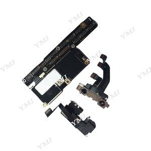 Image 3 - 100% Originele Ontgrendeld Voor Iphone X Moederbord Zonder Gezicht Id/Met Gezicht Id Moederbord 64 Gb 256 Gb Voor iphone X Logic Boards