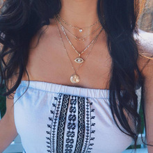 1 Pc Bohemian Necklace Fashion Neck Decorating Accessories Women Chic Choker Gift