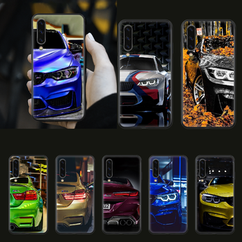 Blue Red Car for Bmw Phone Case cover hull For SamSung Galaxy A 3 5 7 10 20 30 40 50 51 70 71 e s plus black Funda Fashion image