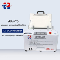 2 In1 12 inch Vacuum Laminating Machine Built In Pump And Air Compressor Bubble Remover Machine For Phone Samsung Repair