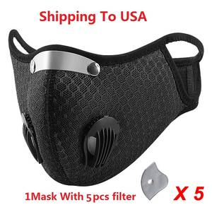 DUST-FILTER ACTIVATED-CARBON-FILTER Sports-Bibs Outdoor Windproof Cycling Lightweight