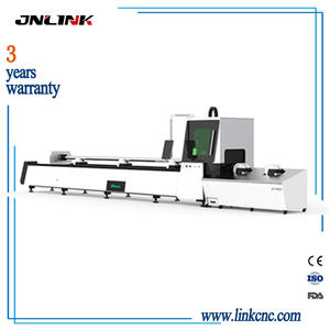 JNLINK new production  fiber laser cutting machine for round and square tube