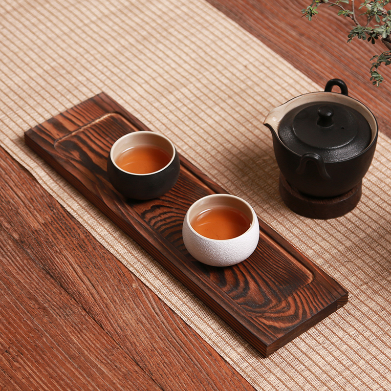 Ручной бамбука Чай лоток столик кунг-фу Чай комплект Чай горшок для хранения чашка тарелка Чай Инструменты доска Кухня блюдо стойки декорат...