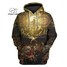 PLstar Cosmos Triumph Of Christianity 3d hoodies/shirt/Sweatshirt Winter autumn funny Harajuku Long sleeve streetwear