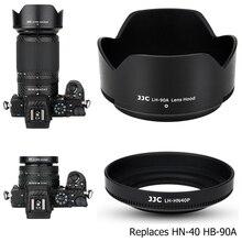 JJC בורג על + ABS עדשת הוד עבור ניקון Z50 כפולה עדשת קיט (Nikkor Z הר DX 16 50mm & 50 250mm) מחליף HN 40 HB 90A