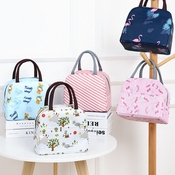 Hot Sale Waterproof Nylon Portable Zipper Thermal Oxford Lunch Bags Convenient Leisure Tote Food 2020 - discount item  15% OFF Special Purpose Bags