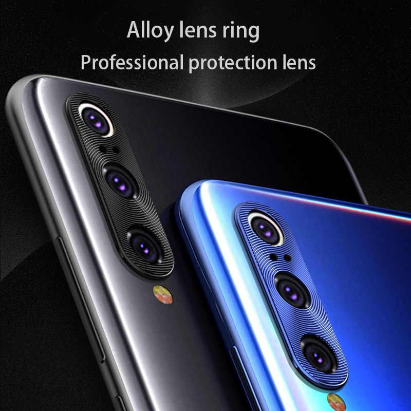 Kamera Lens koruyucu Xiaomi Redmi için not 9 Pro 9s 7 8 cam kapak Mi 9T Lite k20 Mi A3 kılıfı halka kaplama alüminyum çerçeve