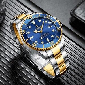 Image 2 - TEVISE T801 التلقائي ساعة ميكانيكية الرجال 2020 مقاوم للماء ساعات رجالي العلامة التجارية الفاخرة الأزرق ساعة اليد Relogio Masculino 2019