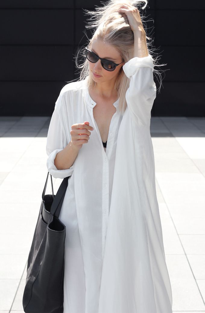 New Style Europe And America Faux Cotton Button Oversized Shirt Sha Tan Qun Bathing Suit Cover-up Dress Women's Outdoor Long Car