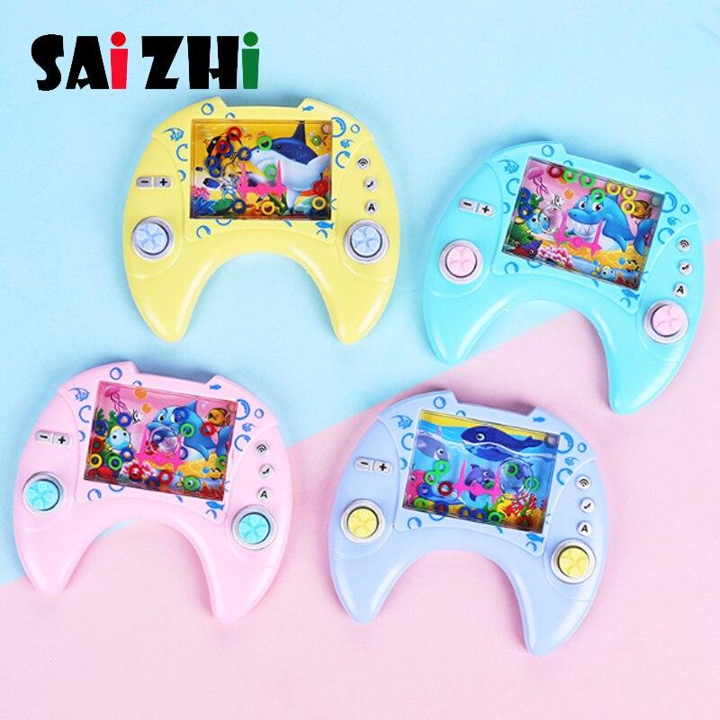 Saizhi Water Ring Machine Nostalgic Childhood Children's Retro Toy Game Machine Circling Game Machine Random Color
