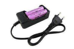 Image 2 - Универсальное зарядное устройство Deligreen 18650, литий ионное перезаряжаемое умное зарядное устройство для 14500 ,16340 батарей, 1 шт., вилка для США и ЕС