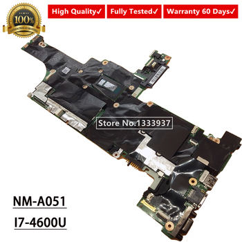 For Lenovo T440S laptop motherboard I7-4600U SR1EA VILT0 NM-A051 04X3976 Mainboard