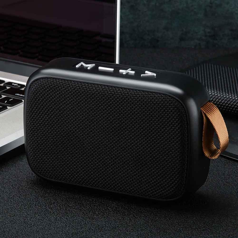 Bluetooth Haut-Parleur ext/érieur sans Fil Bluetooth Smart Mini Audio Subwoofer Petit Cadeau Haut-Parleur pour lint/érieur,Noir