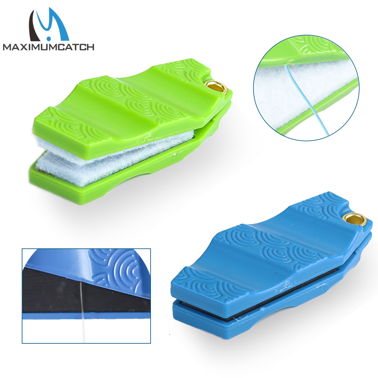 Maximumcatch Fly Fishing Leader Straightener & Line Cleaner Hard Plastic Fishing Accessory
