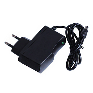 Image 1 - AC 100 240V DC 12V 1A האיחוד האירופי Plug AC/DC כוח מתאם מטען חשמל מתאם עבור CCTV מצלמה (2.1mm * 5.5mm)