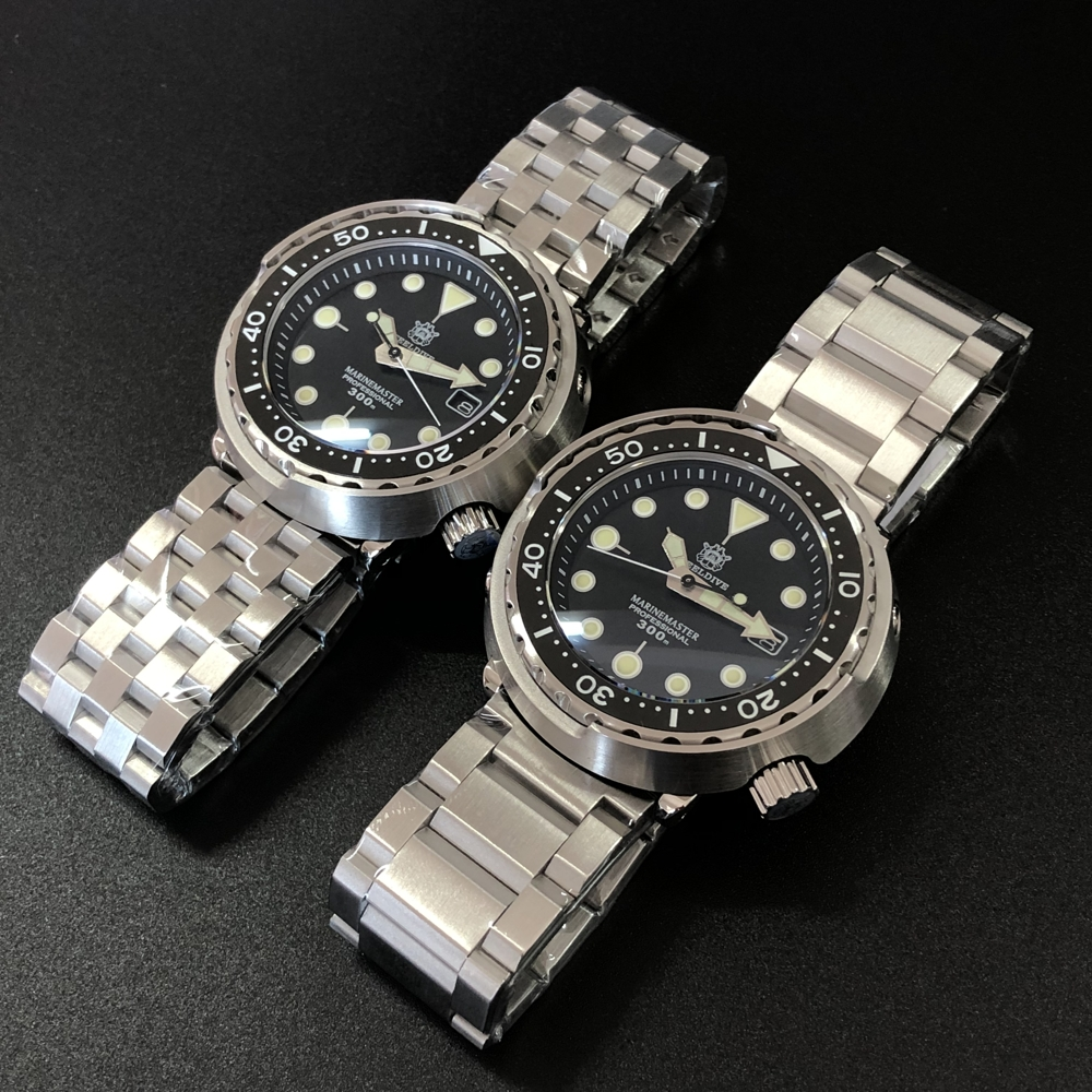 Steeldive 1975 Tuna 300m Diving Watch Automatic Steel Stainless Ceramic Bezel NH35 Men's Wristwatch Mechanical Watches Fashion