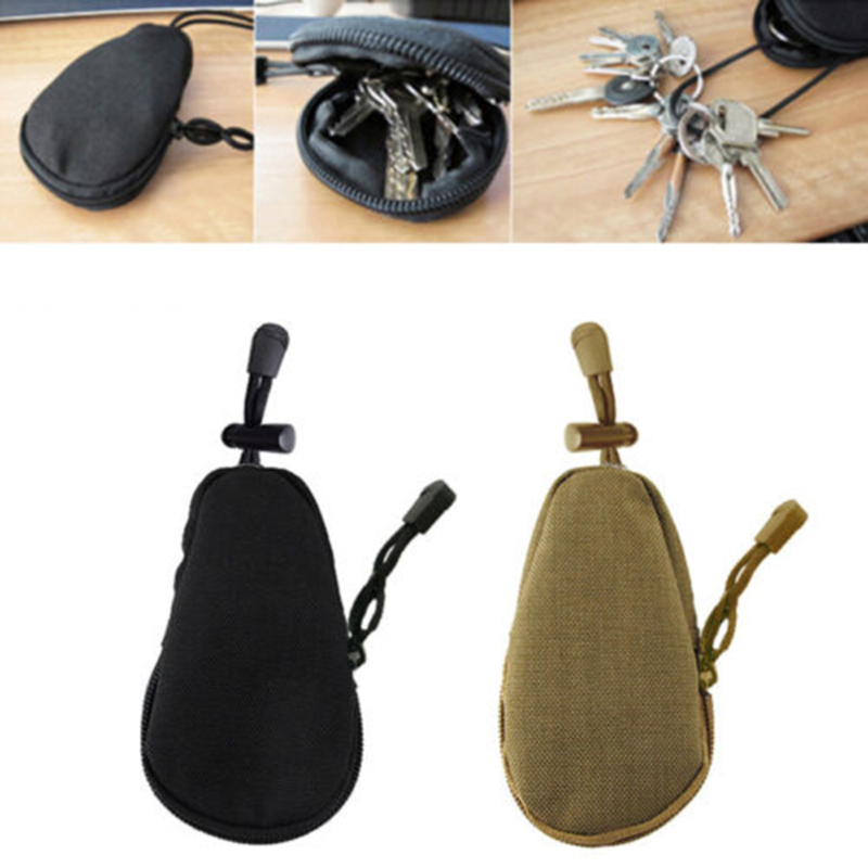 Oxford Fabric Waterproof Hard-wearing Camouflage Tactics Vice Accessories Military Enthusiasts Key Bag