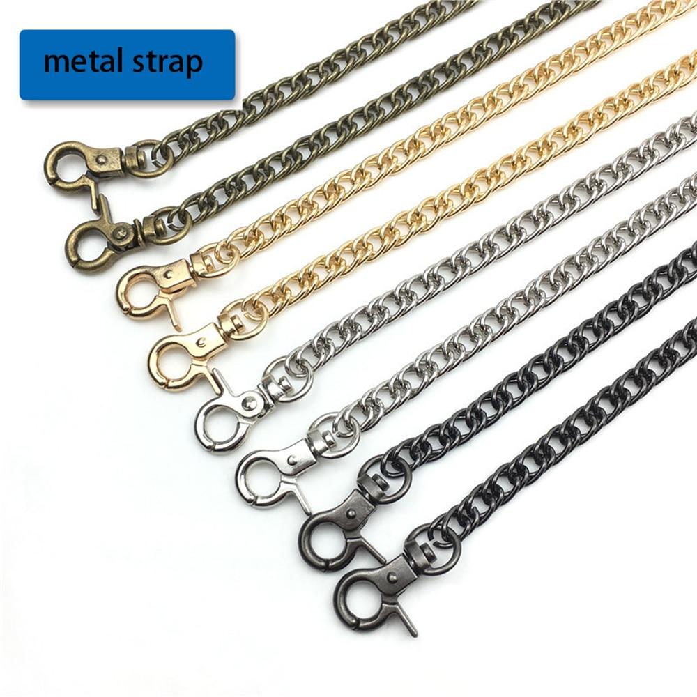 120cm Women Bag Making Metal Chain Strap With Buckle 5pcs/lot