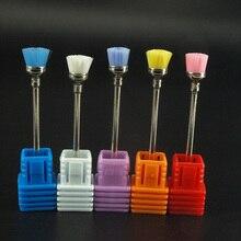 KIMAXCOLA разные цвета Фрезер для ногтей, сверлильный щетка электрическая 2,35 мм Профессиональный гель для ногтей сверло для очистки маникюрные дрели аксессуары