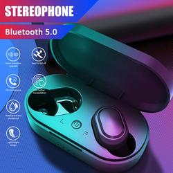 The new M1 Bluetooth headset wireless sports earbuds 5.0 TWS headset noise reduction microphone for Xiaomi Apple Samsung M1