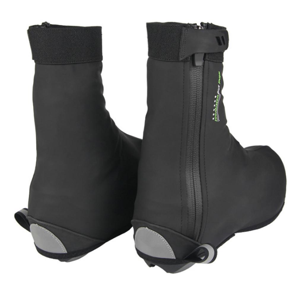 Couvre-chaussures imperméable vélo hiver cyclisme chaussures couvre-chaussures vélo de route vtt coupe-vent orteil plus chaud vtt chaussures hiver couverture de chaussure