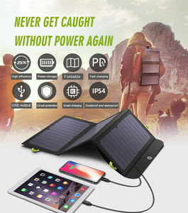 Image 2 - ALLPOWERS 5V 21W Built in 10000mAh Battery Portable Solar Charger for Mobile Phone