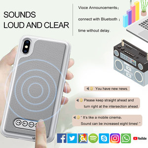 Image 2 - 3 in 1 Bluetooth Speaker Phone Case V4.2 Power Bank Phone Case TPU Hard Shell Cover For iPhone 6/6S 7 8 Plus X/XS Max XR