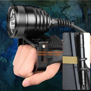 Image 3 - Brinyte 3000LM Tiểu Hộp Đèn Pin Lặn 3x Cree XML2 3000LM LED Lặn Biển Đèn Pin Sáng 200M Dưới Nước Mạnh Đèn