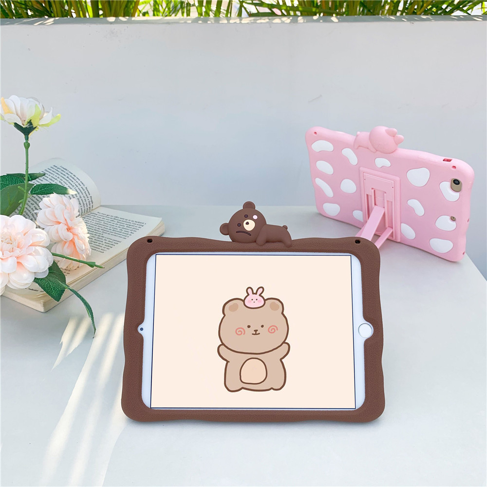 iPad Capa-Case Funda 11inch Soft Tablet Rabbit Pro for Cute Cartoon Silicon Para-Cover