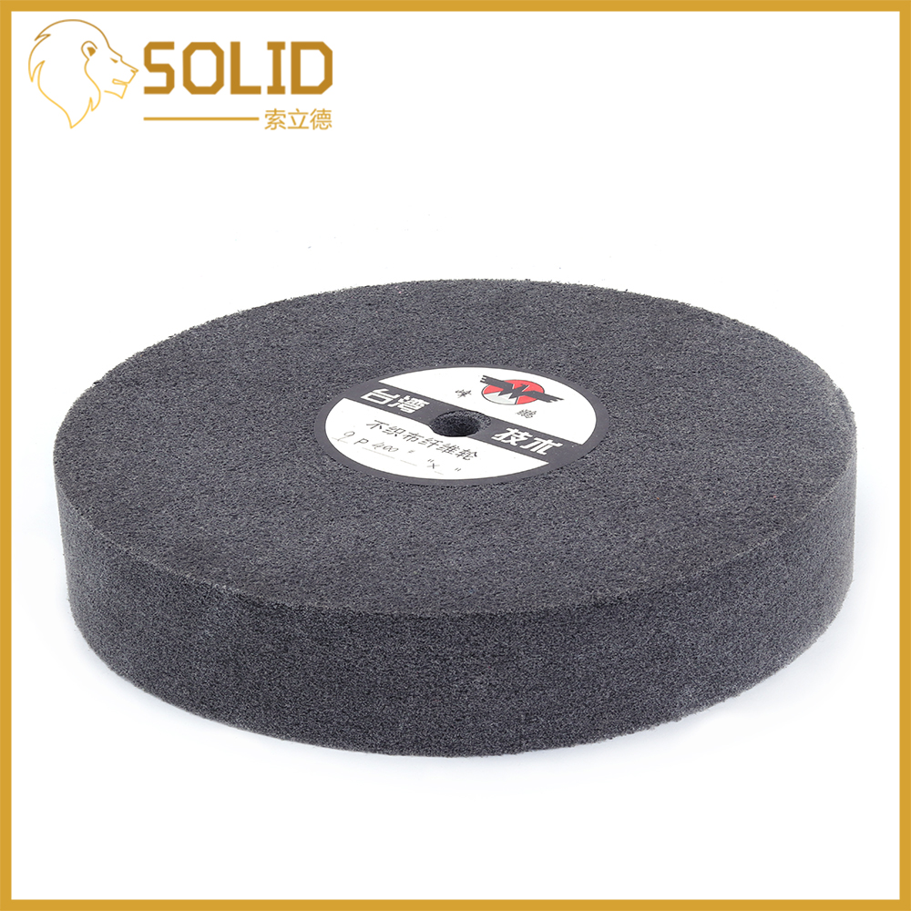 150mm Nylon Fiber Wheel Disc Polishing Buffing Buffer Pad Grinding Disc Wheel Abrasive Tool Bore 16mm 2Pcs
