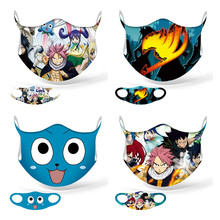 Cosplay Masks Dust-Proof-Mask Fairy-Tail Natsu Adult Sports Kids School Street New Lucy