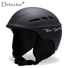 Snowboard Helmet Skating Ski Skiing Detector Children Kid for Boy Girl Women Integrally-Molded