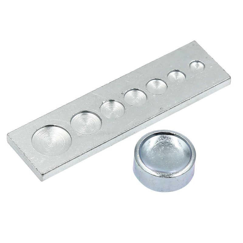 Juego de herramientas de instalación con remaches y botones sujetadores de 11 Uds. Para manualidades DIY, accesorios de Material DIY