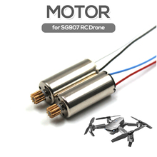 2Pcs Original SG907 RC Drone Brushed Motor RC Spare Parts for SG907 4K 5G Wifi G