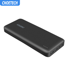 CHOETECH Power Bank For Xiaomi Dual USB PD 45W Type-C 20000m