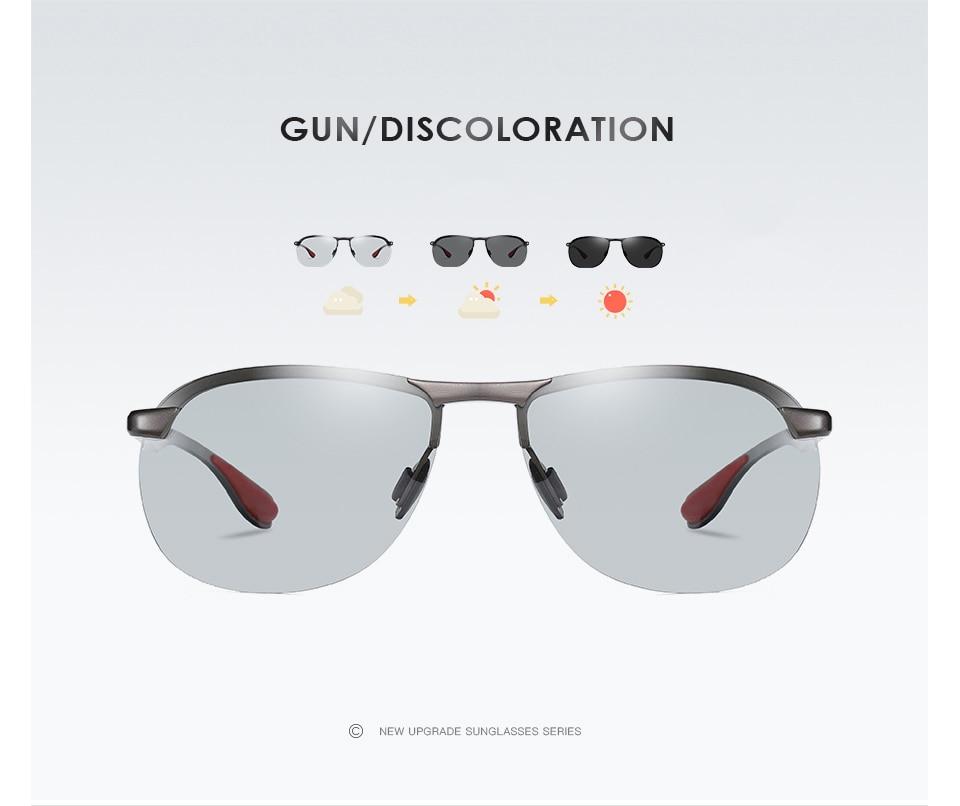 Hf10e1472b26f4ea3a63c98a9fbceed018 2020 Brand Photochromic Men Sunglasses Polarized Glasses Day Night Vision Driving Sun Glasses For Male Oculos De Sol Masculino