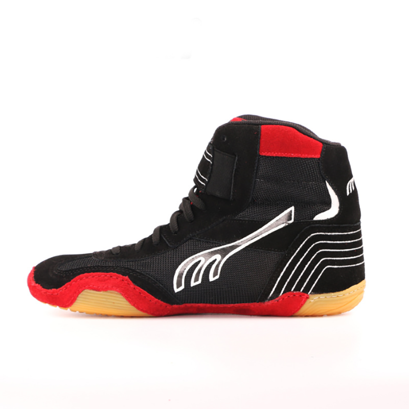 Original Do-win High Top Wrestling shoes Size 35-44 Men Women Boxing Shoes Breathable Cowhide Weightlifting Shoes