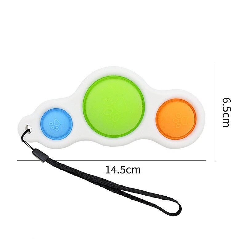 Fidget-Toys Anti-Stress Pop-It-Popit-Gift Squishy Sensory Adults Simple Dimple Children img4