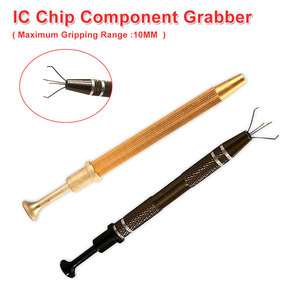 Powerful Four Claw Paws Parts Gripping Device IC Chip Grabber Maintenance Tool Pick Up Tools Metal Grabber(China)