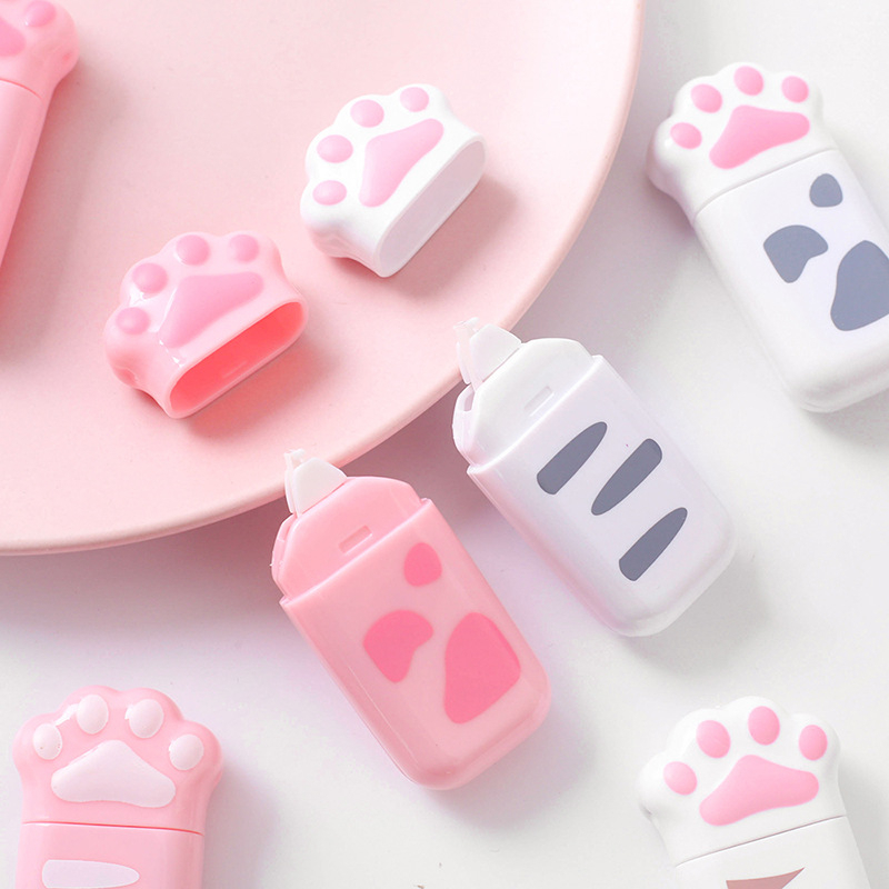 1 Pcs Lytwtw's Lovely Kawaii Cat Claw Cute Correction Tape Stationery Office School Supply Gift nice things corrector novel(China)