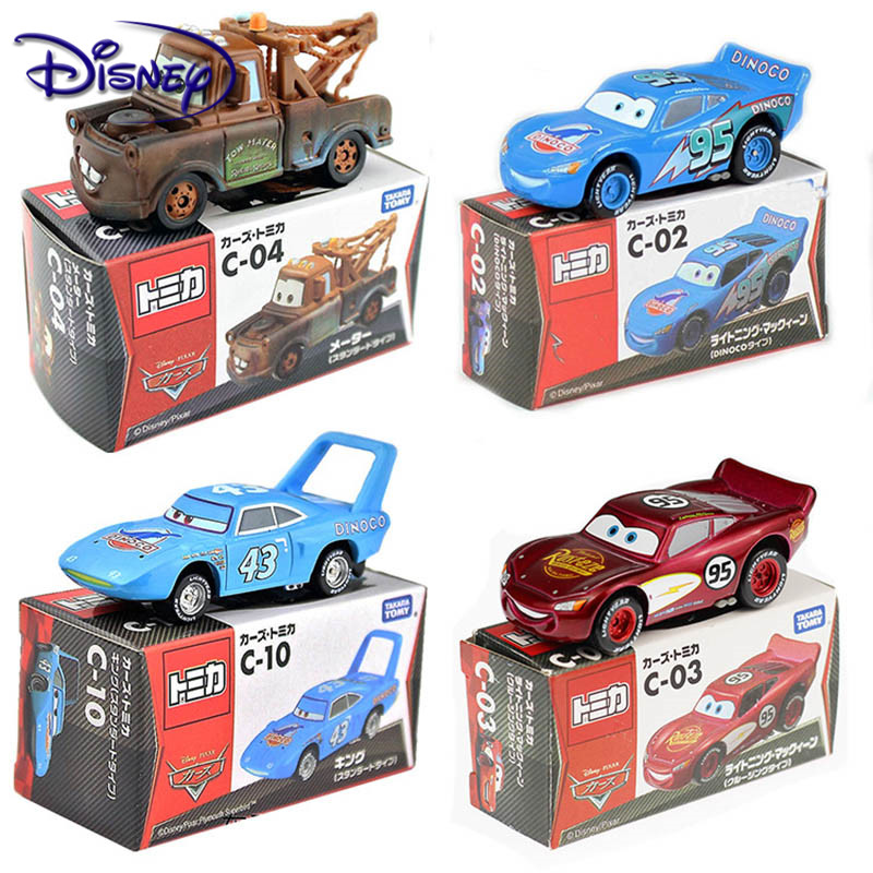 Disney Pixar Cars 3 Lightning McQueen Jackson Storm Cruz Mater Mack Uncle Truck 1:55 Diecast Metal Car Model Boy Gift