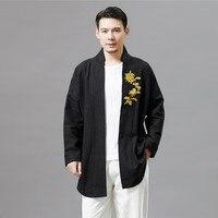 Tang Suit Traditional Chinese Jacket Men hanfu long sleeve Costume Chinese Style male ethnic clothing