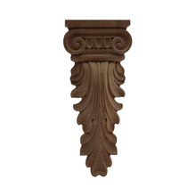 Ornamental Wood-Decal Furniture-Feet Antique Long Cabinet Leaves Floral Stigma Exquisite