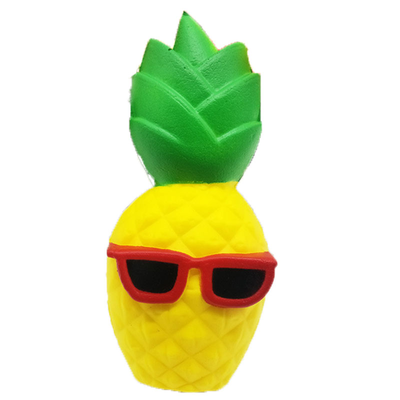 Squishy Pack Fruit Set Squishie Pineapple Banana Girl Orange Lemon Peach Corn Monkey Squeeze Stress Relief Toys For Children